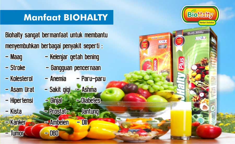 manfaat biohalty herbal